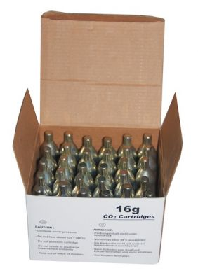 Mosa CO2 16g Non-Threaded Cartridges - Box of 30