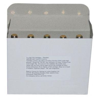 Co2 16g Cartridges - Threaded (Pack of 5)