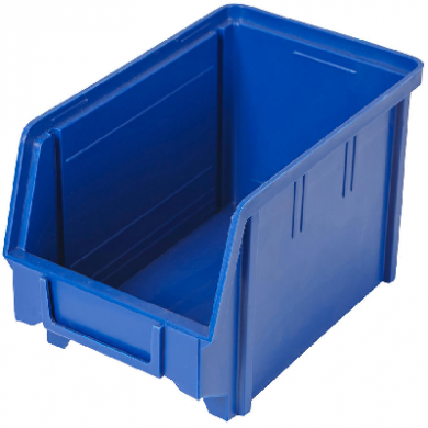 Heavy Duty Parts Bin (Small) Dark BLUE - Used Like New Condi