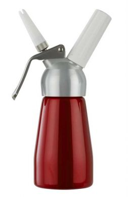 Cream Whipper - 0.25 Litre (Red with METAL Head)