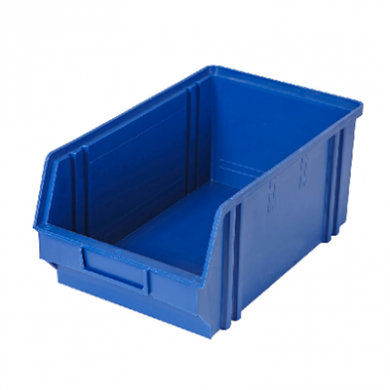 Heavy Duty Parts Bin (Medium) Dark BLUE - Used Very Good Con