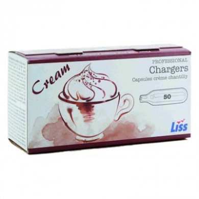 Cream Chargers by Liss (Pack of 24)
