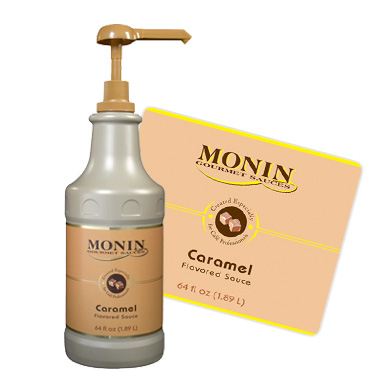 Monin Sauce - 1 89L Caramel (Pump not included)