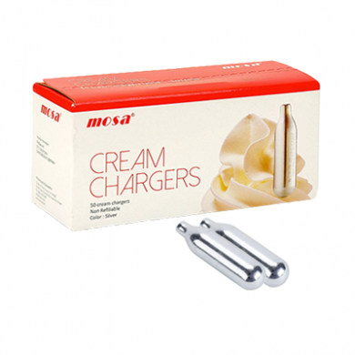 Cream Chargers by Mosa N2O Pack of 2 x 24s (48)