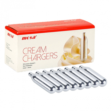 Mosa Cream Chargers - Mosa Pack of 8 x 24s (192)