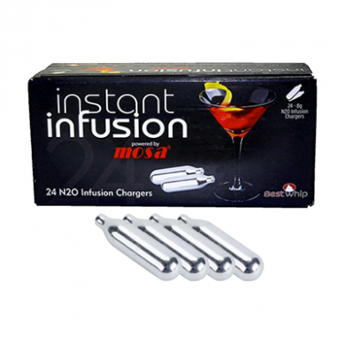 Infusion Mosa Nitrous Oxide - Pack of 4 x 24s (96 Cream Char