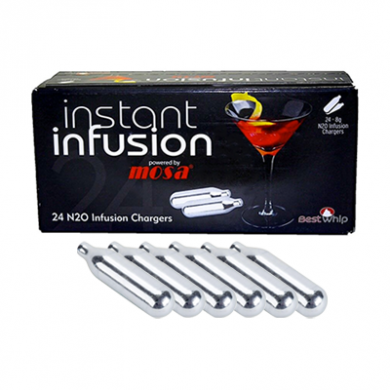 Infusion Mosa Nitrous Oxide - Pack of 6 x 24s (144 Cream Cha