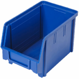 Heavy Duty Parts Bin (Small) Dark BLUE - Used Like New Condition