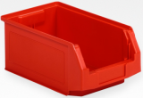 SSI Schaefer - Semi-Open Parts Bin (Red) Used - Good Condition